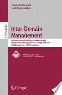 Inter Domain Management