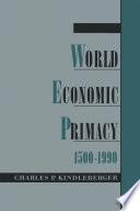 World Economic Primacy