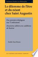Le dilemme de l'être et du néant chez Saint Augustin