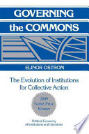 Governing The Commons : in economic sciences in memory of alfred...