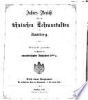 Jahresbericht über die technischen Lehranstalten in Bamberg