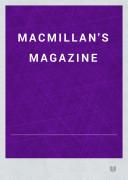 Book Macmillan's Magazine