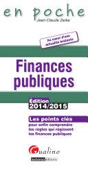Finances publiques 2014 2015