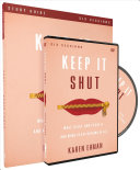 Keep It Shut Study Guide with DVD