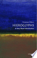 Hieroglyphs  A Very Short Introduction
