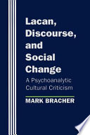 Lacan  Discourse  and Social Change