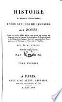 Histoire de Fameux Predicateur Frere Gerunde de Campazas