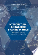 Intercultural Knowledge Sharing In Mncs