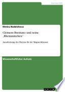 """Clemens Brentano und seine """"Rheinmärchen"""""""