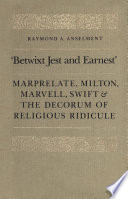 Betwixt Jest and Earnest  Book PDF