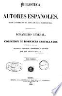 Romancero General     colecci  n de romances castellanos anteriores al siglo XVIII0