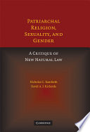 Patriarchal Religion  Sexuality  and Gender