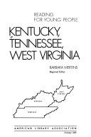 Kentucky Tennessee West Virginia book