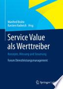 Service Value als Werttreiber