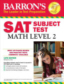 Barron s SAT Subject Test  Math Level 2  12th Edition