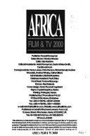 Africa Film and Tv Yearbook
