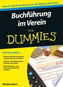 Buchfuhrung Im Verein Fur Dummies