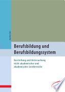 Berufsbildung und Berufsbildungssystem