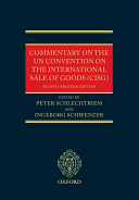 Commentary on the UN Convention on the International Sale of Goods  CISG