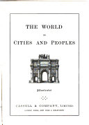 The World  Its Cities and Peoples