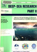 Effects Of Climate Variability On Sub Arctic Marine Ecosystems book