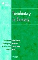 Psychiatry in society