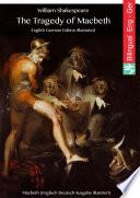 The Tragedy of Macbeth (English German Edition illustrated)