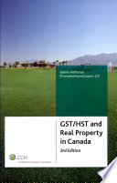 GST HST and Real Property in Canada