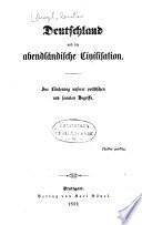 Deutschland und die abendländische Civilisation