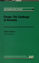 Europe, the Challenge of Diversity