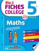 Mes fiches coll  ge Maths 5e