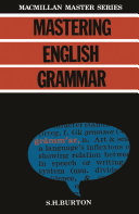 Mastering English Grammar