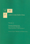 EMF  Studies in Early Modern France