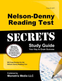 Nelson Denny Reading Test Secrets Study Guide