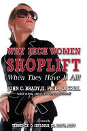 Why Rich Women Shoplift   When They Have It All