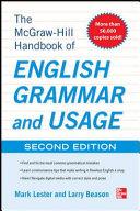 McGraw Hill Handbook of English Grammar and Usage  2nd Edition
