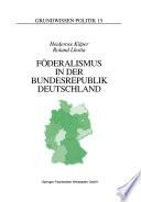 Föderalismus in der Bundesrepublik Deutschland