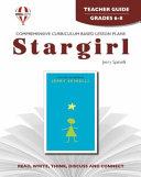 Stargirl Novel Units Teacher Guide