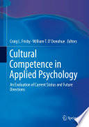 Cultural Competence In Applied Psychology