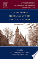 Air Pollution Modeling And Its Application Xviii book