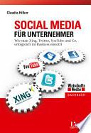 Social Media f  r Unternehmer