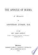 The Apostle of Burma Book PDF
