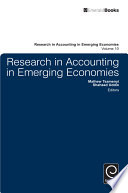 Research In Accounting In Emerging Economies book
