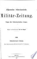 Allgemeine schweizerische Milit  rzeitung