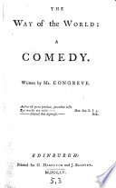 The Way of the World  a Comedy