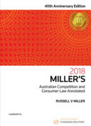 Miller s Australian Competition and Consumer Law Annotated