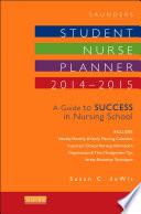 Saunders Student Nurse Planner  2014 2015