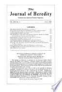The Journal of Heredity