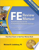FE Review Manual  Third Edition