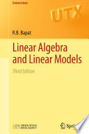 Linear Algebra And Linear Models book
